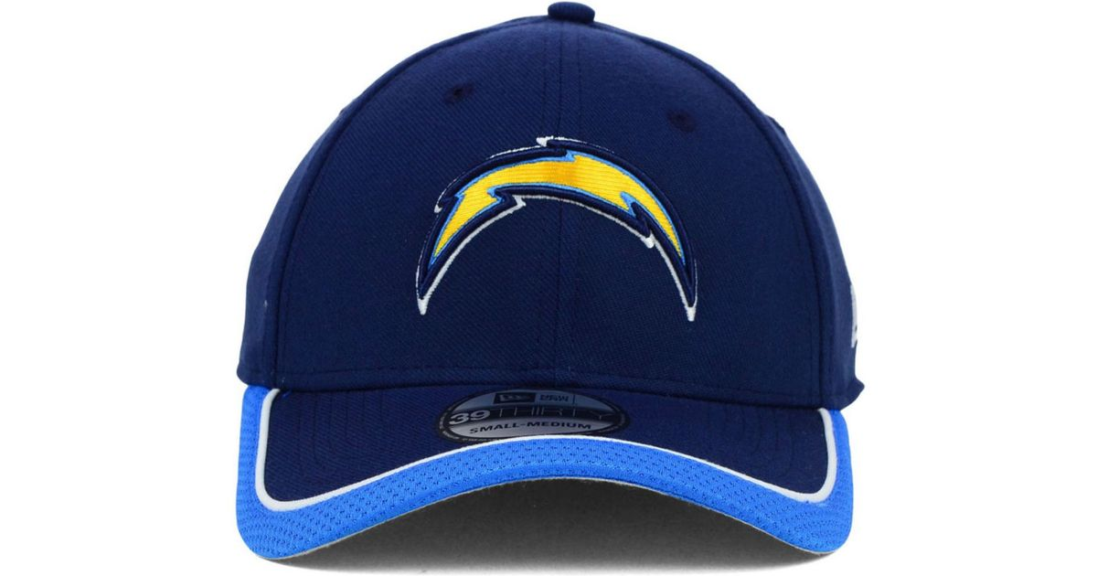 4168c151e Lyst - KTZ San Diego Chargers On Field 39Thirty Cap in Blue for Men