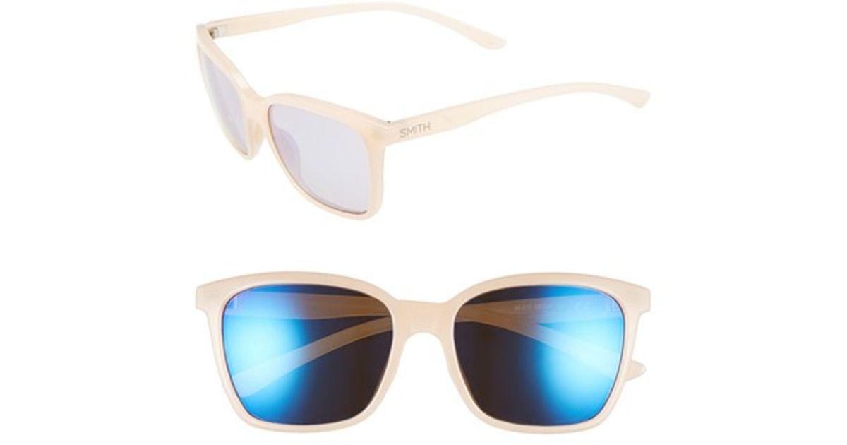 Smith The Runaround 55mm ChromaPop™ Polarized Sunglasses