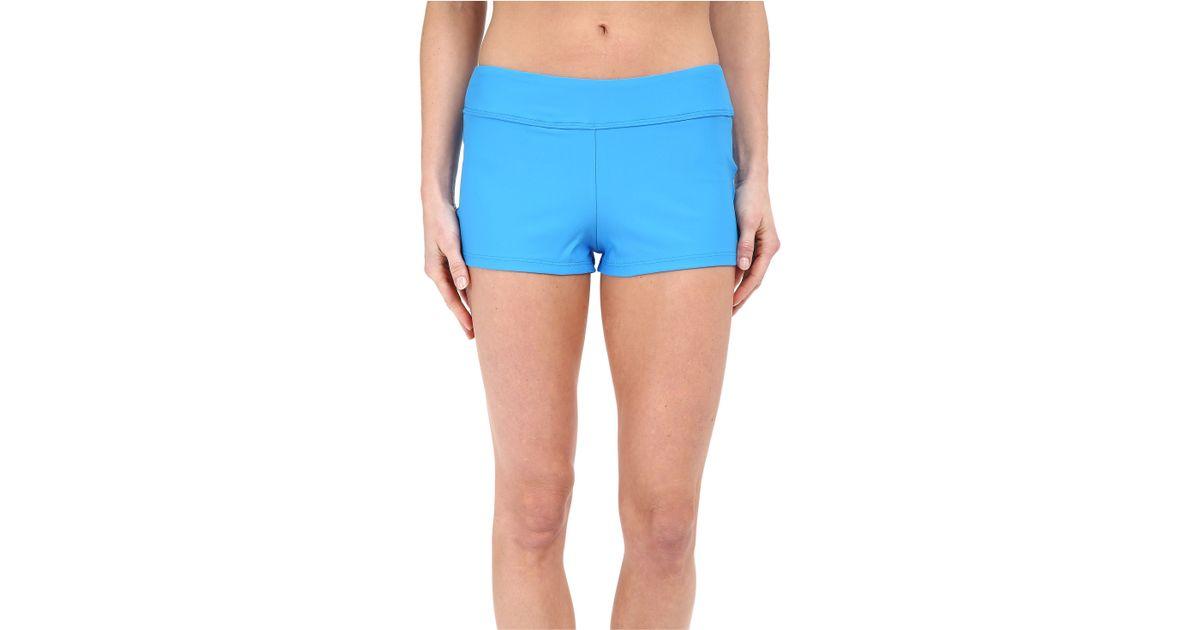 68621f3db9 Next By Athena Good Karma Jump Start Swim Shorts in Blue - Lyst