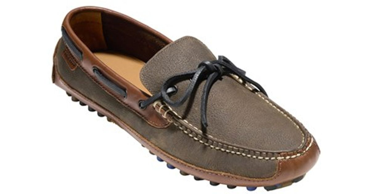 331d91e6212 Lyst - Cole Haan  grant  Driving Shoe in Brown for Men