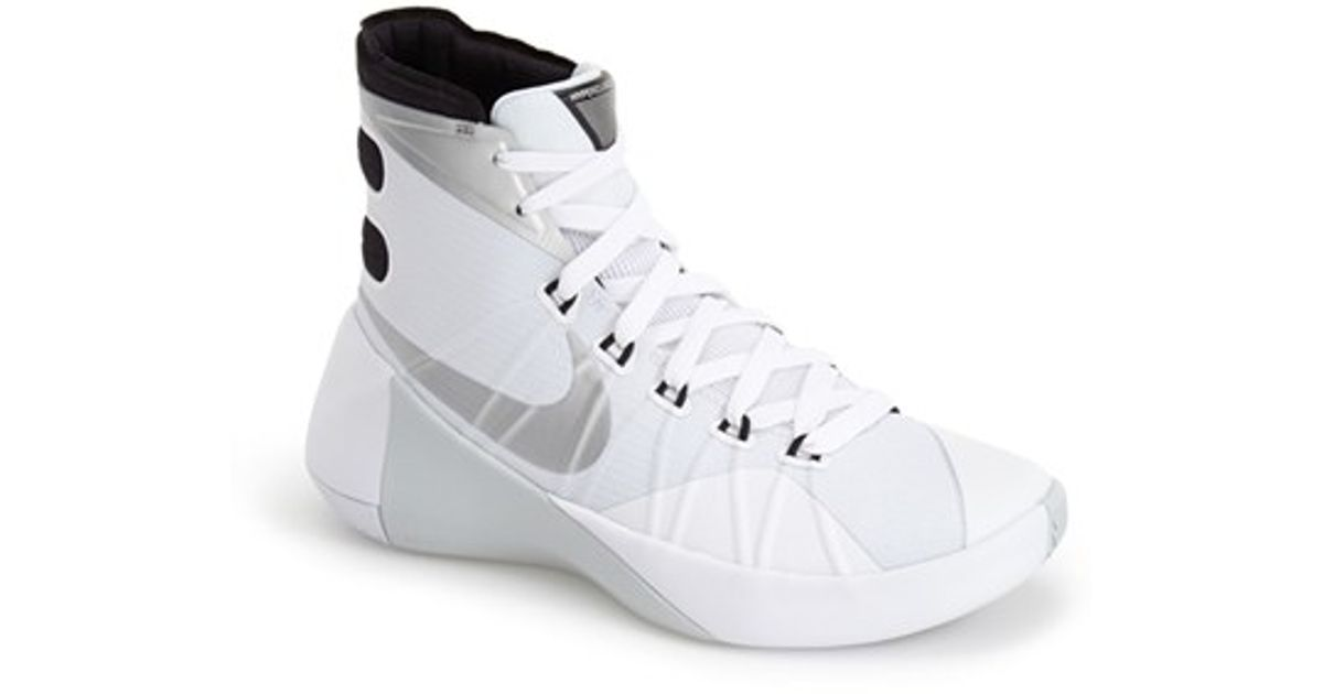 premium selection d71f7 c2c2a ... order lyst nike hyperdunk 2015 basketball shoe in white bbcde c3257