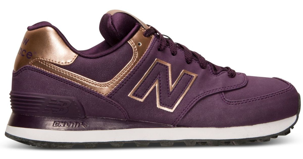 New Balance 420 Grise Et Rose