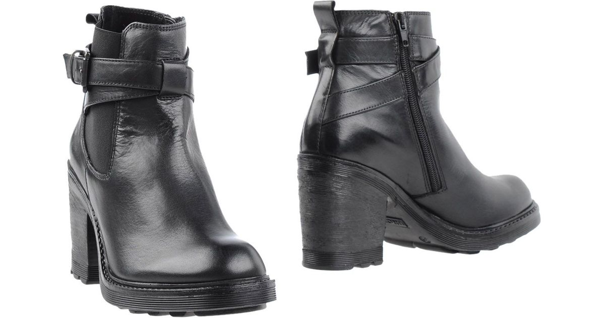 bronx ankle boots in black lyst