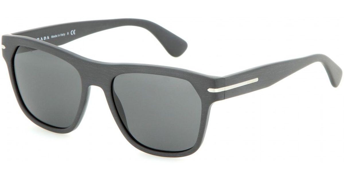 Lyst - Prada D-frame Sunglasses in Gray