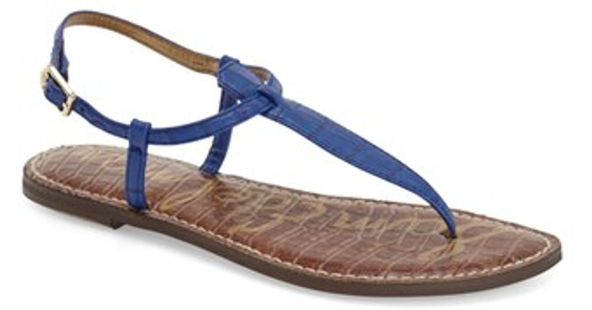 c95fe4bb054 Sam Edelman  gigi  Sandal in Blue - Lyst