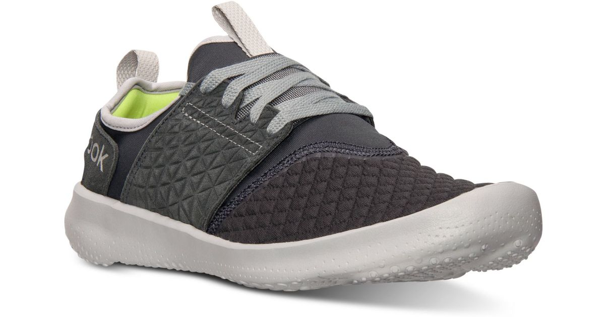 Reebok Menu0026#39;s Sole Identity Trainer Og Training Sneakers From Finish Line In Gray For Men | Lyst
