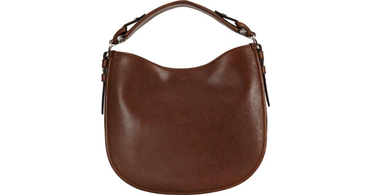 Givenchy Small Zanzi Obsedia Hobo Bag in Brown - Lyst 7ba02e68b9