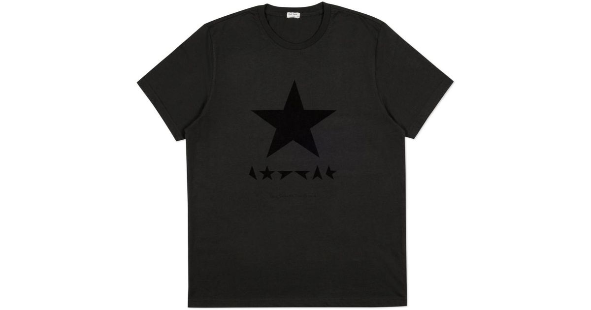 9ea7d3049 Paul Smith For David Bowie - Black ☆ T-Shirt in Gray for Men - Lyst