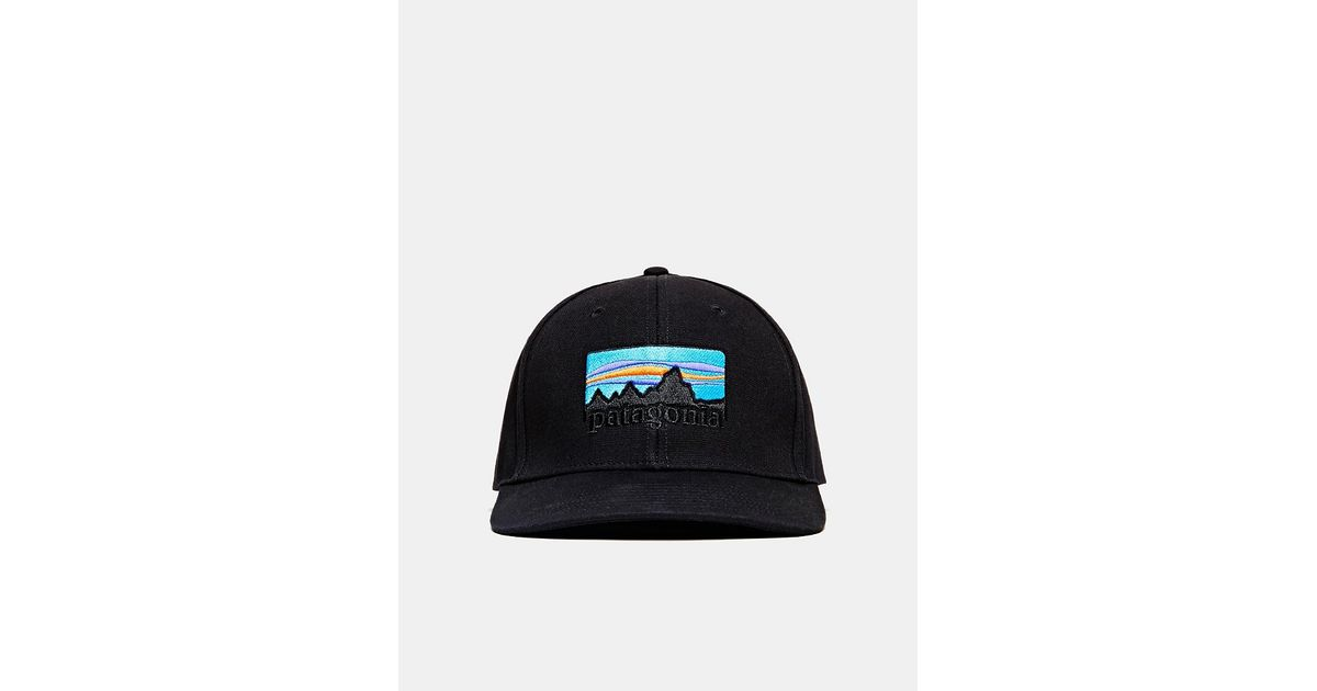 2c7a580f03a Lyst - Patagonia 73 Logo Roger That Hat in Black for Men