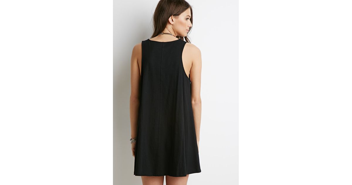 Lyst Forever 21 Embroidered Babydoll Dress Youve Been Added To