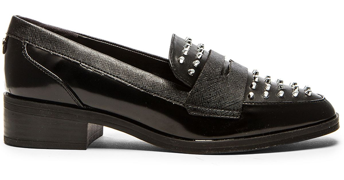 Circus By Sam Edelman Lali Faux Leather Loafers In Black