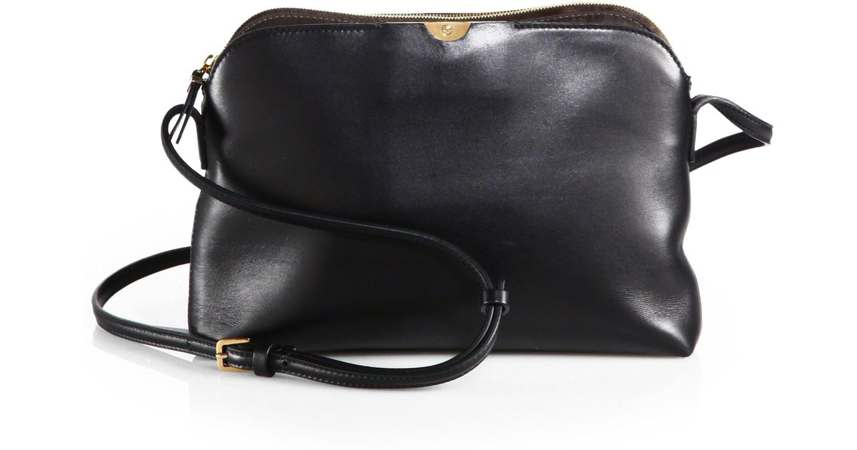 The row Multi Pouch Shoulder Bag in Brown | Lyst