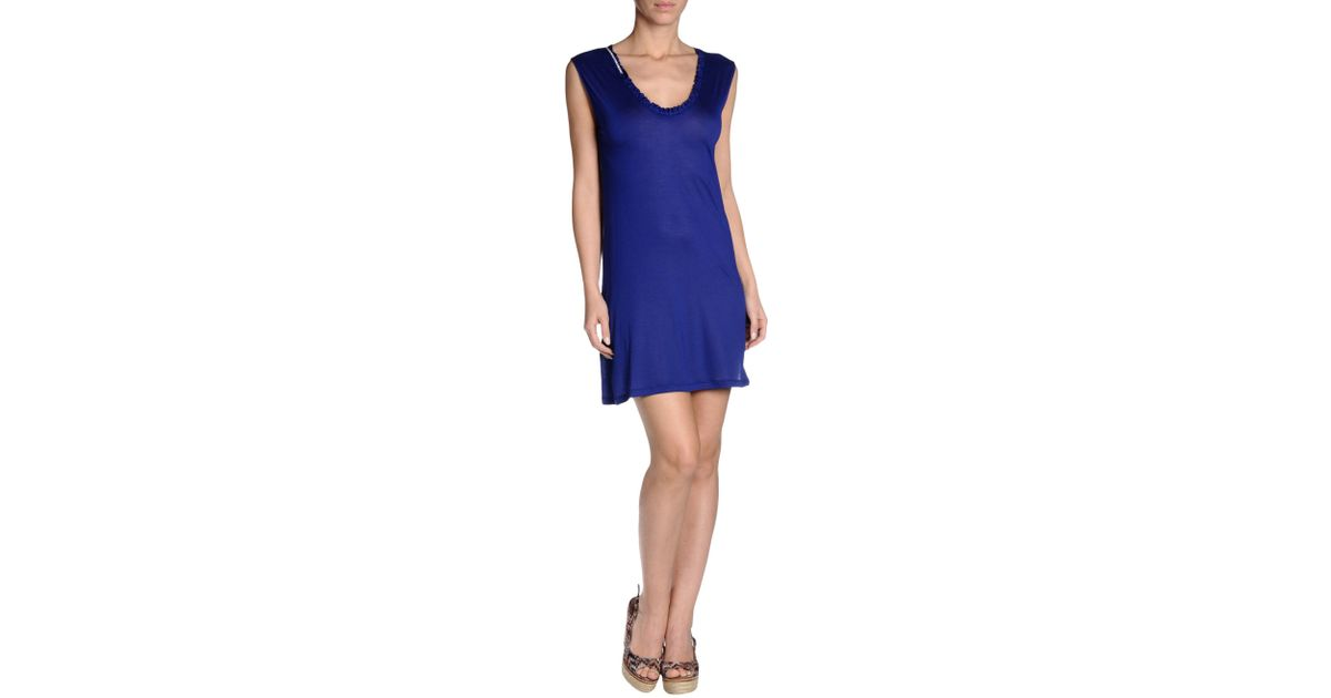 John galliano Cover-up in Blue | Lyst