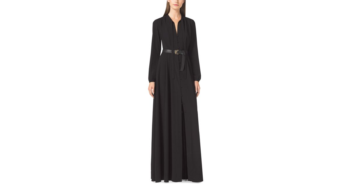 Belted maxi dresses