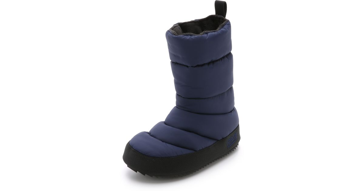 sc 1 st  Lyst & Lyst - Marc by marc jacobs Howard Tall Tent Boots in Blue