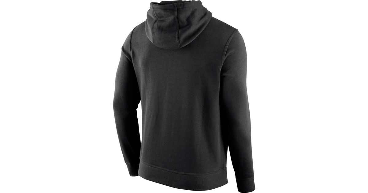 f13a5a70b Lyst - Nike Men s San Francisco Giants Club Hoodie in Black for Men