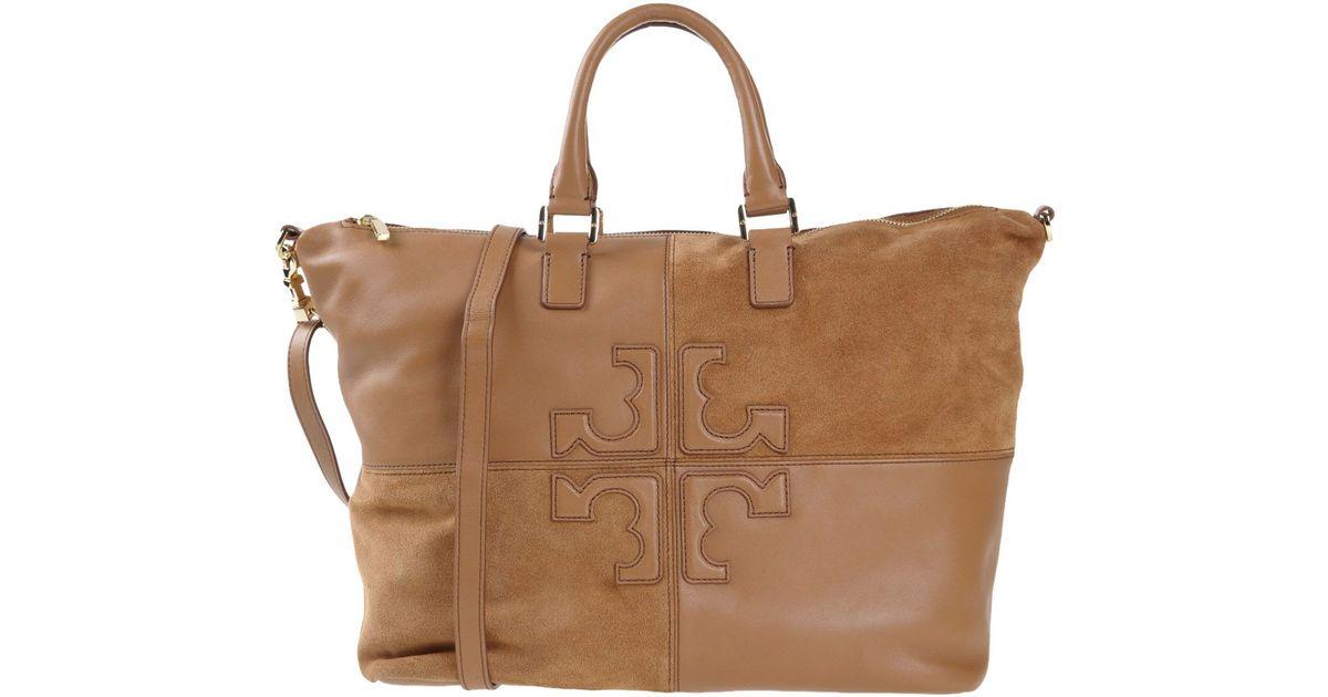 acf8d3f1c3b Lyst - Tory Burch Handbag in Natural