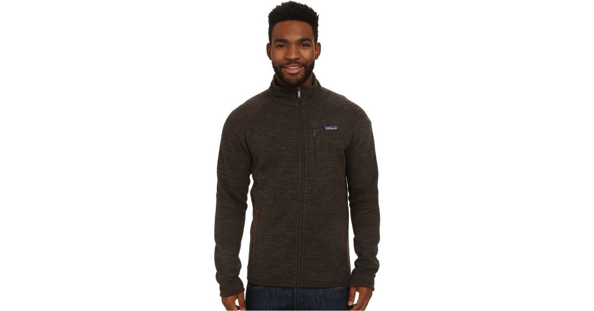 Patagonia Better Sweater Jacket in Brown for Men | Lyst