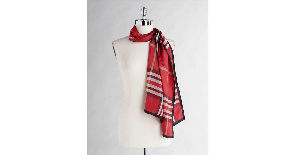 lord silk fashion scarf in lyst