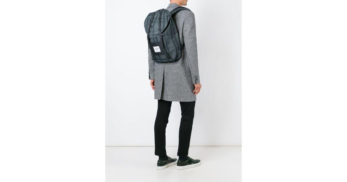 4de0cb6ae66a Lyst - Herschel Supply Co.  little America  Backpack in Black for Men