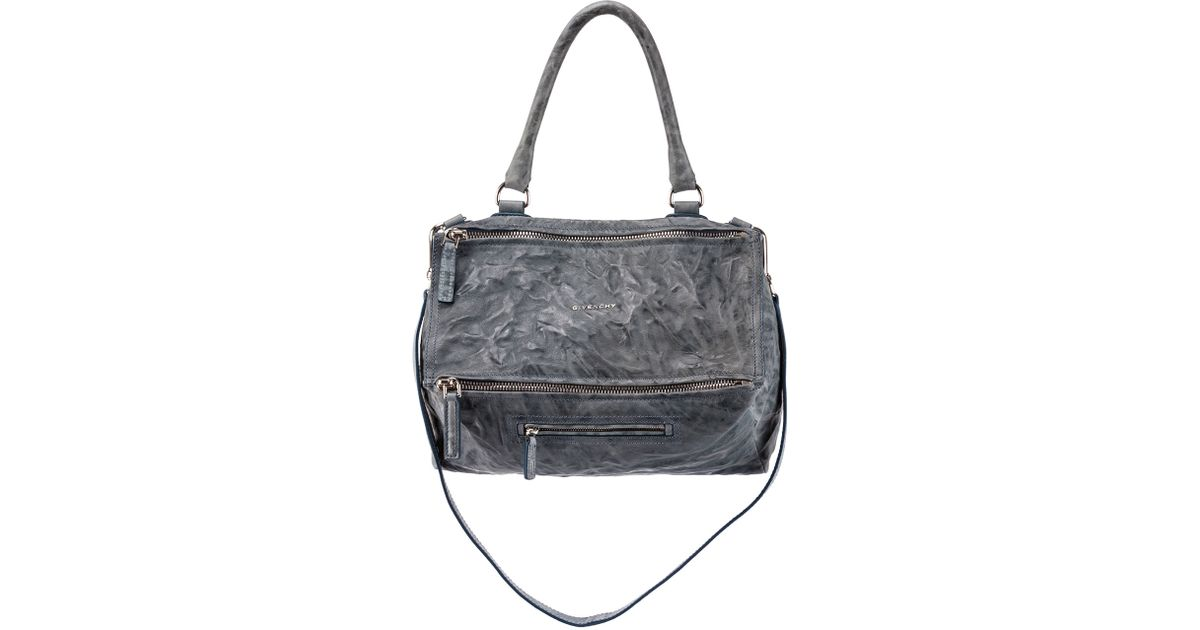 31399198dd5e Givenchy Old Pepe Small Sheepskin Satchel in Gray - Lyst