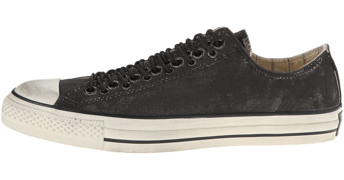 ba918fc3f51f Lyst - Converse Chuck Taylor All Star Multi Eyelet Painted Canvas in Black