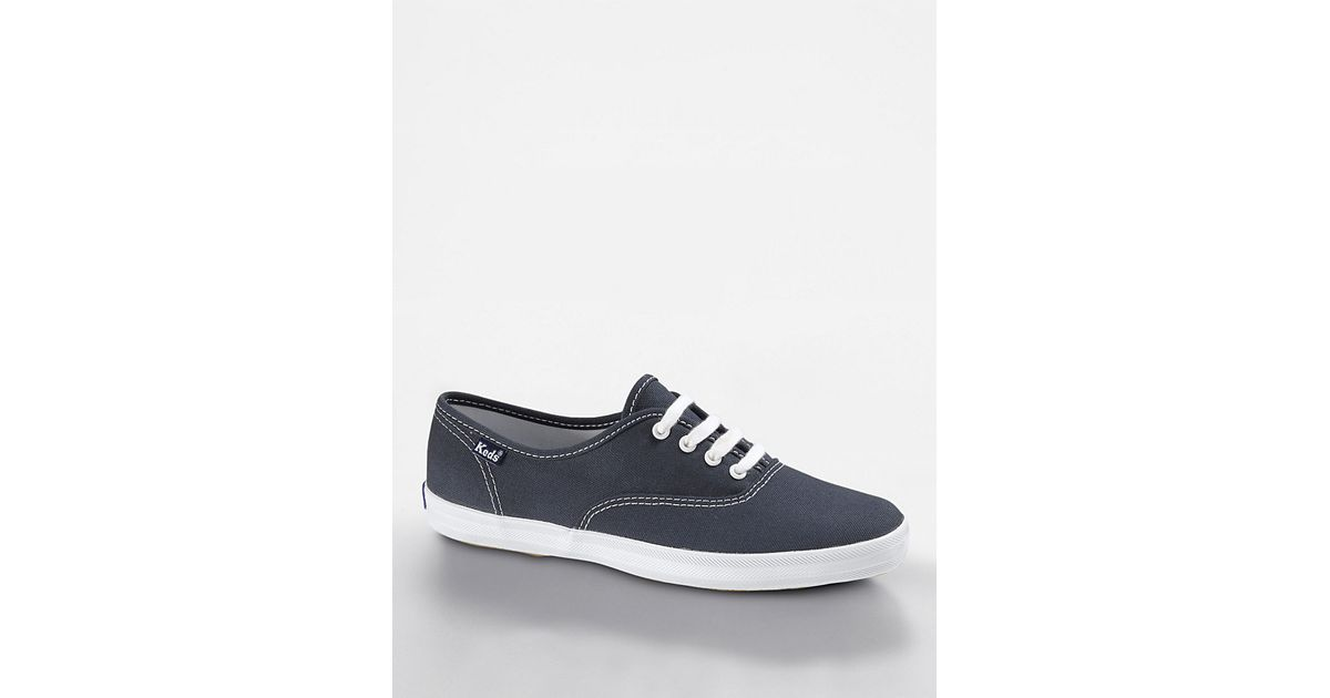 9aa54c38d6f69 Keds Champion Cotton Canvas Sneaker in Blue - Lyst