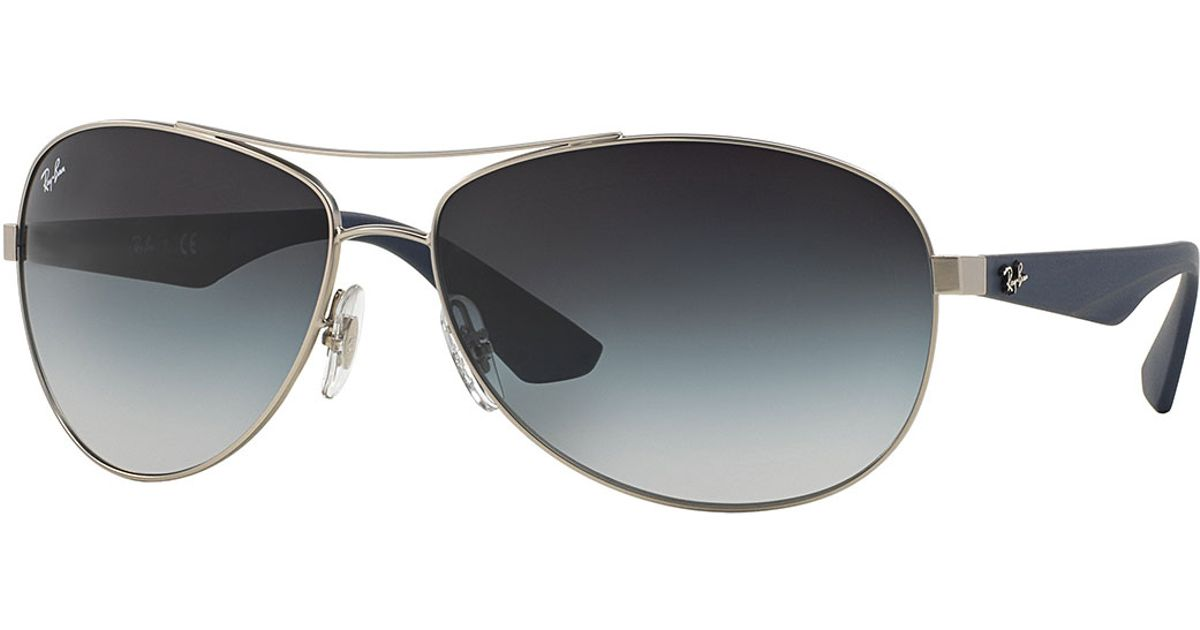 Ray-ban Wire-frame Metal Sunglasses in Silver (ANTIQUE ...