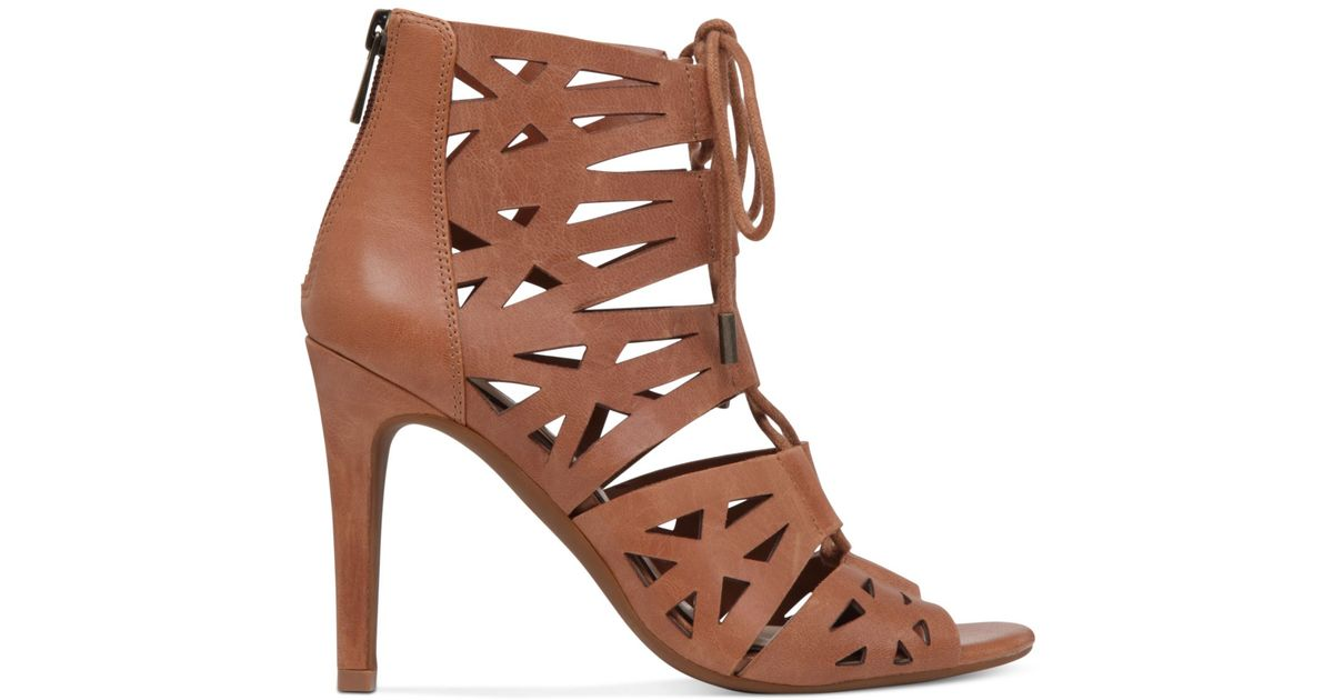 Jessica Simpson Emerita Gladiator Dress Sandals In Brown