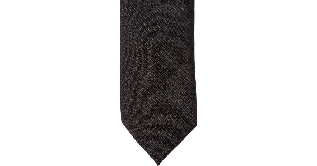 cd29c1d67c98 Forever 21 Glen Plaid Skinny Tie in Gray for Men - Lyst