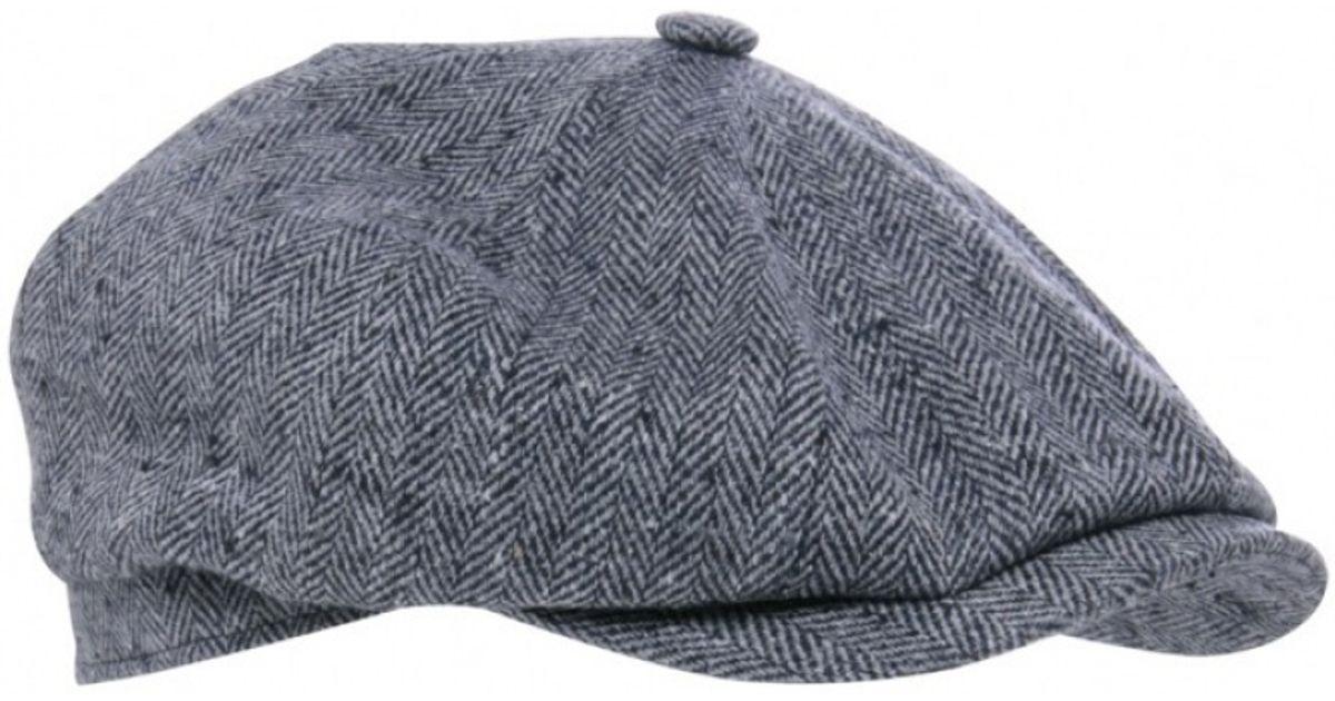 best price online for sale sale online Stetson Gray Hatteras Silk Herringbone Cap for men