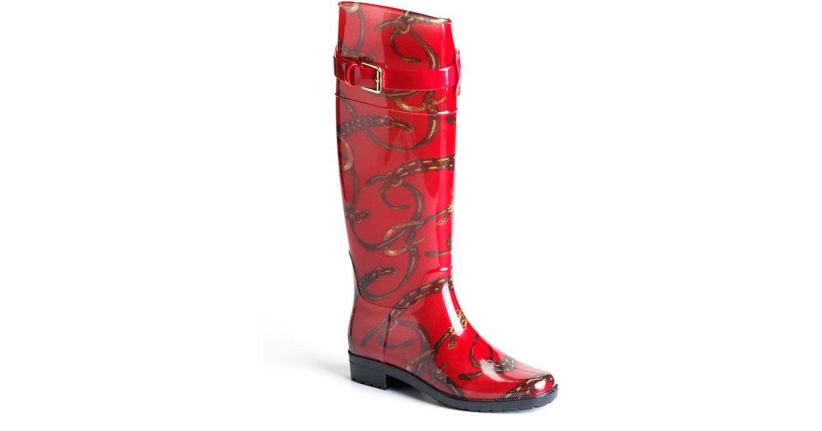 Original Lauren By Ralph Lauren Women39s Rossalyn Ii Rain Boots In Black  Lyst