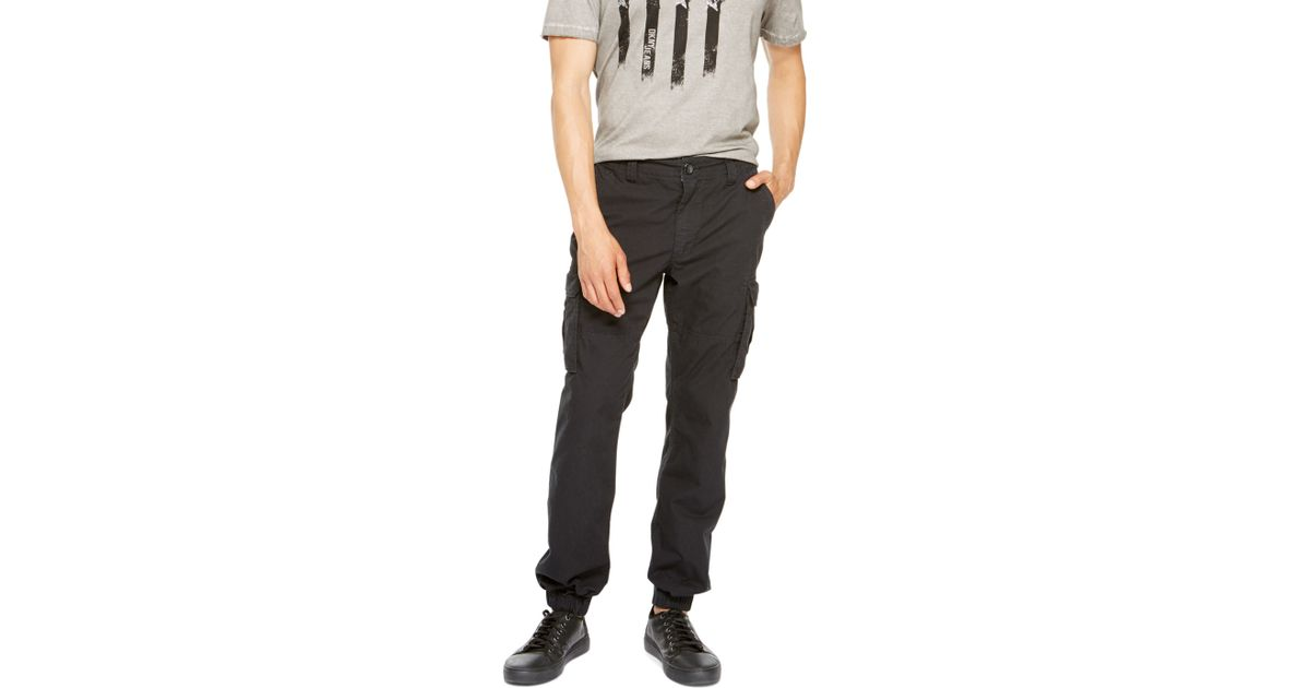 4ad75c3cf5 DKNY Jeans Cargo Jogger Pant in Black for Men - Lyst