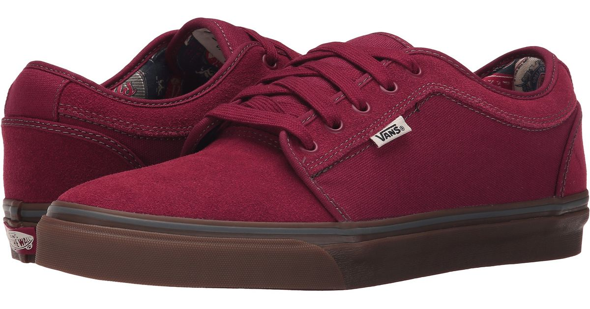 ccd5a093627afb Lyst - Vans Chukka Low in Purple for Men