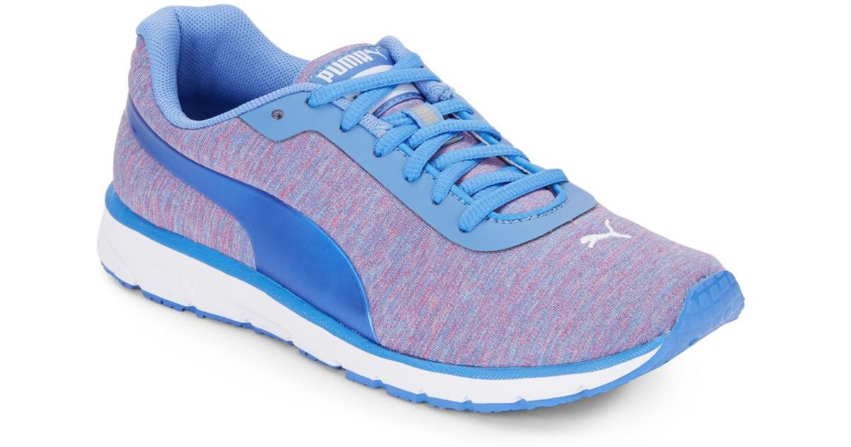 PUMA Narita V3 Blue Lace up Sneakers Lyst