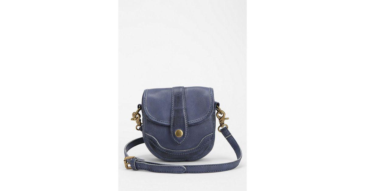 9eb4556ca7 Lyst - Frye Frye Campus Mini Crossbody Bag in Blue