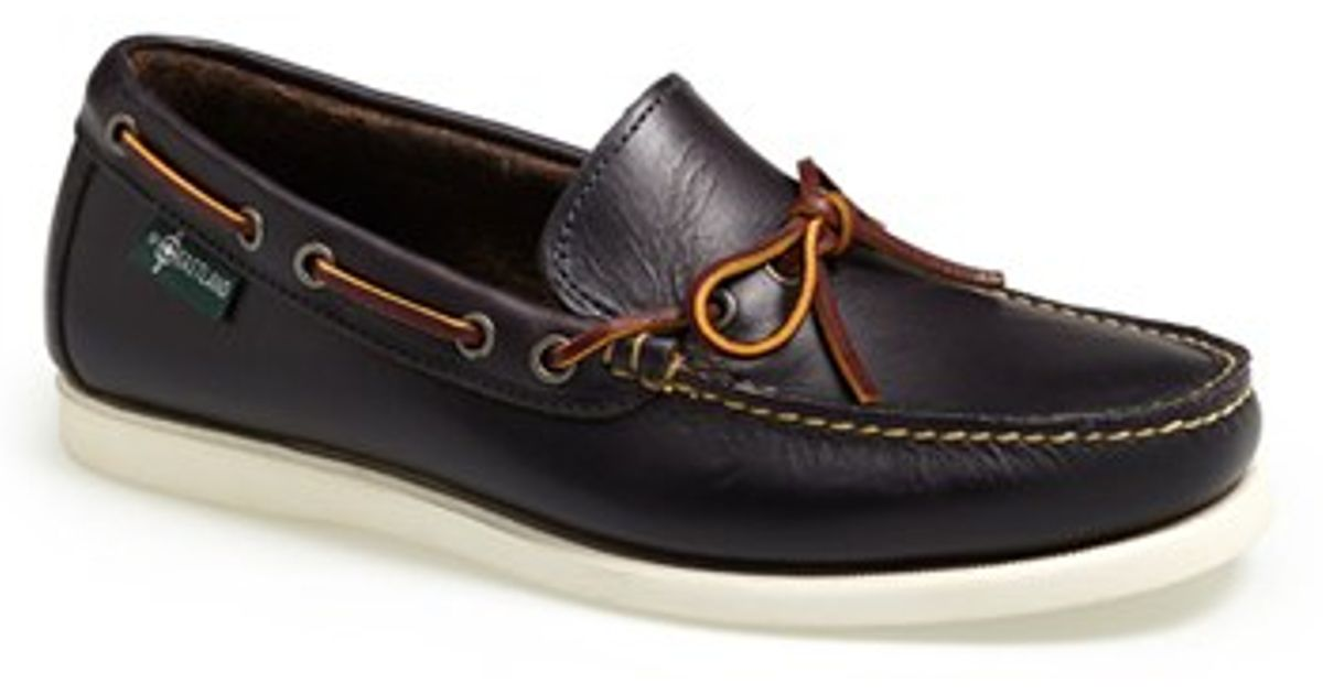 Eastland Yarmouth Womens Leather Boat Shoes