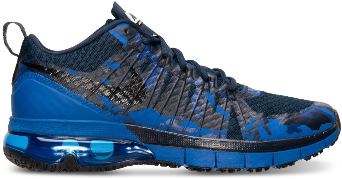 half off 5b8a4 03de6 ... authentic lyst nike mens air max tr180 training sneakers from finish  line in blue for men