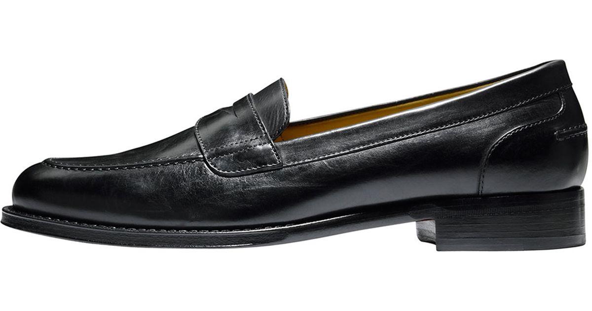 5295d793bd7 Lyst - Cole Haan Bronson Leather Penny Loafer in Black for Men