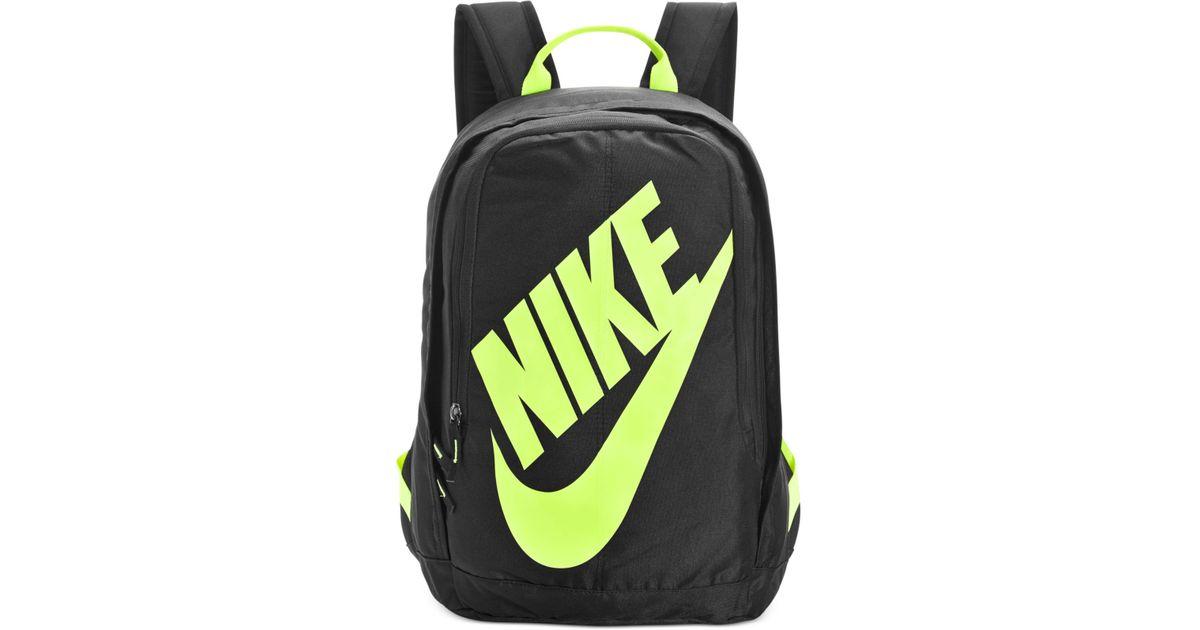 Lyst - Nike Hayward Neon Backpack in Black for Men