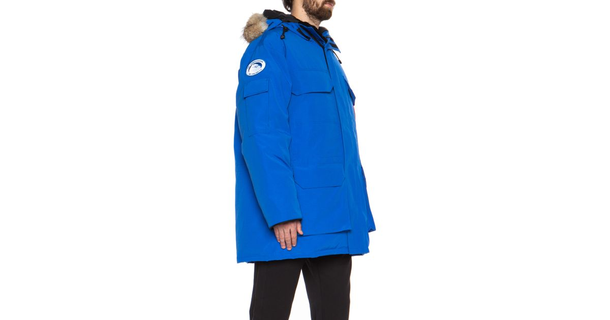 78883535a3e8 Lyst - Canada Goose Pbi Expedition Parka in Blue