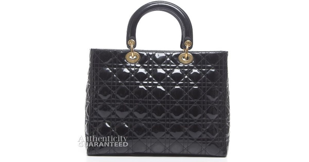 Pre-owned - 48H LEATHER HANDBAG Dior mF3H9yMZ3