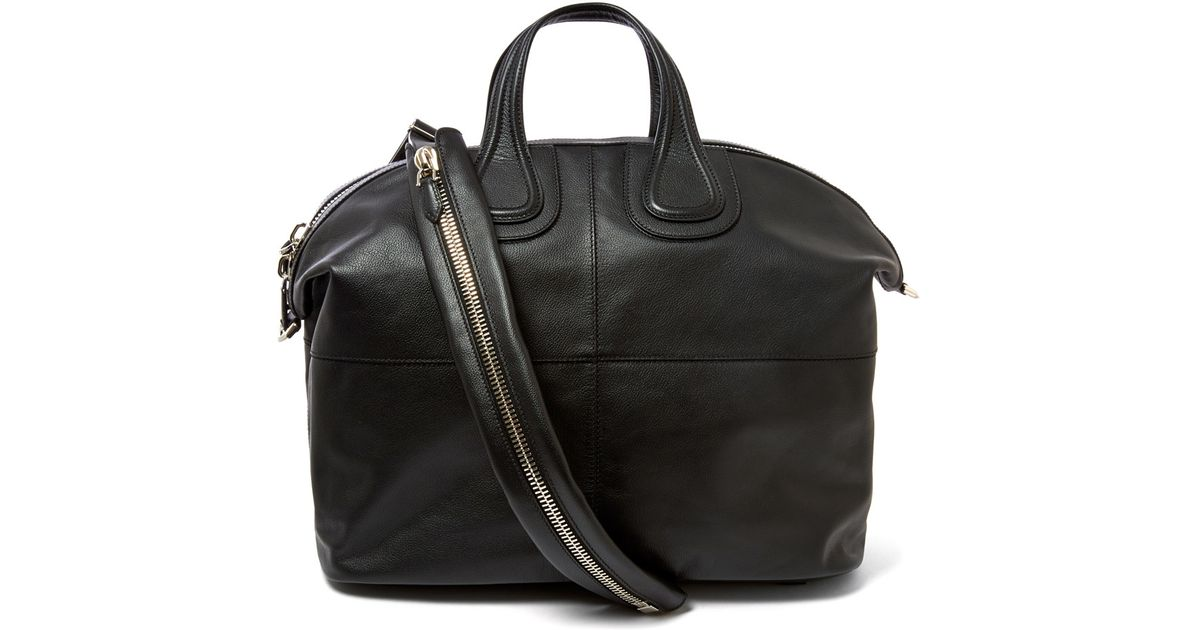 Lyst - Givenchy Black Nightingale Leather Bag in Black for Men c9166ee55adf1