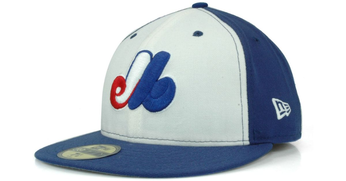 8ea742e294e ... australia lyst ktz montreal expos cooperstown 59fifty cap in blue for  men b3093 51f70