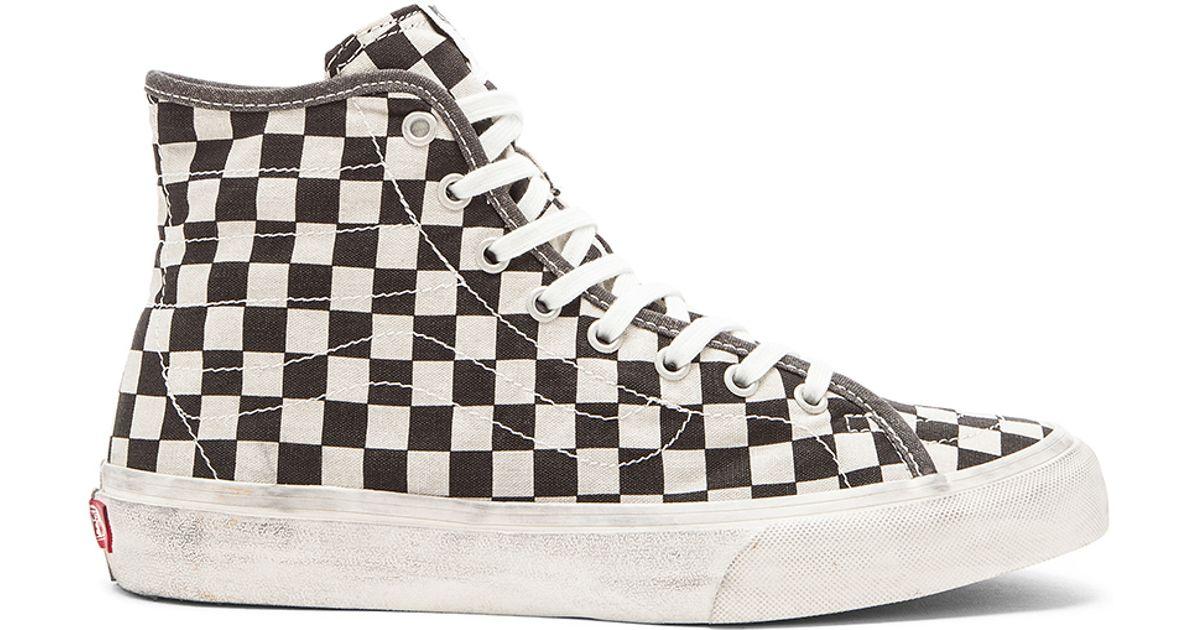 Vans Unisex Sk8-Hi Decon Canvas Sneakers d4btN