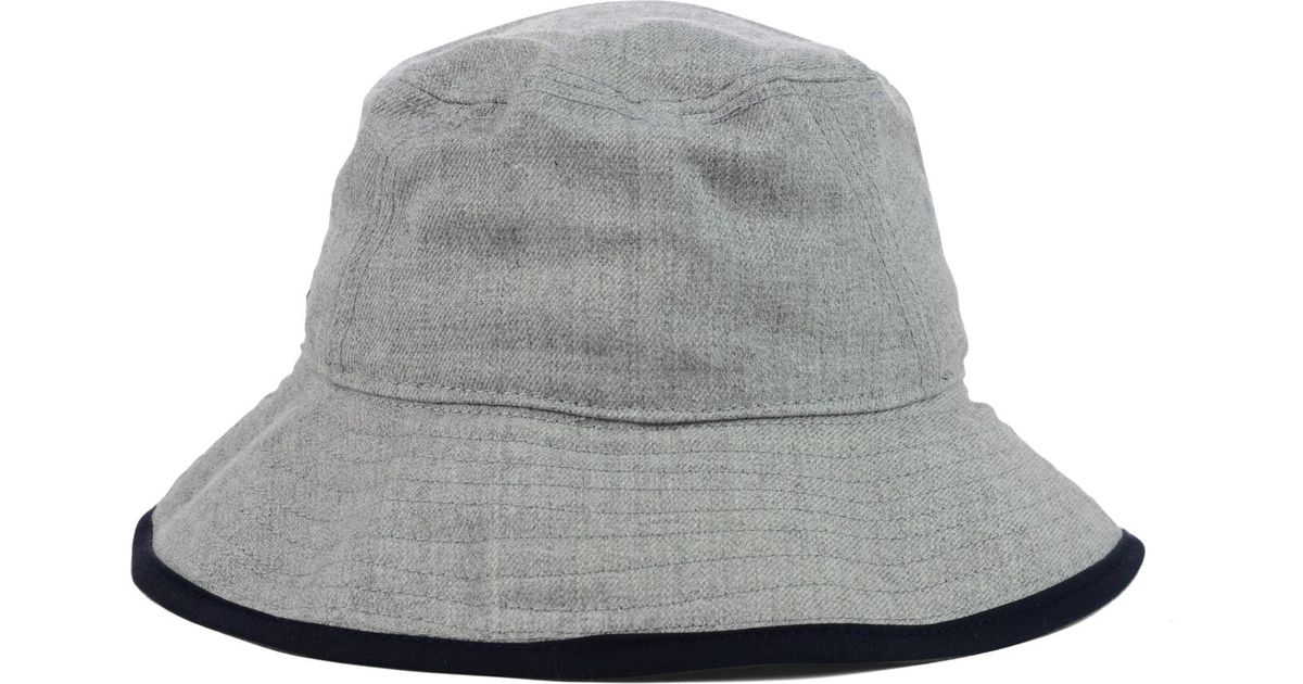 0a59bf28323 Lyst - KTZ New York Yankees Heather Tipped Bucket Hat in Gray for Men