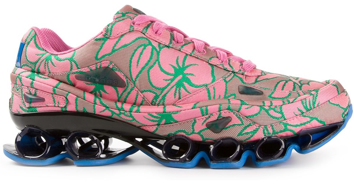 4217d5fa3 Lyst - adidas By Raf Simons Bounce Trainers in Pink