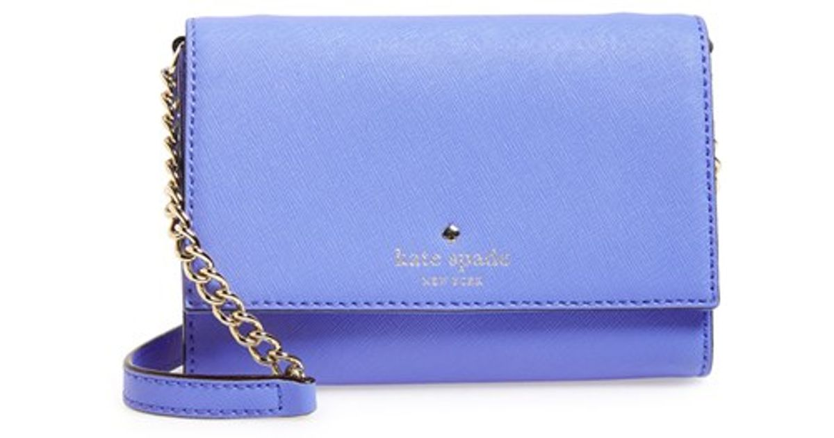 65181db0f Kate Spade 'cedar Street - Cami' Crossbody Bag - Purple in Purple - Lyst
