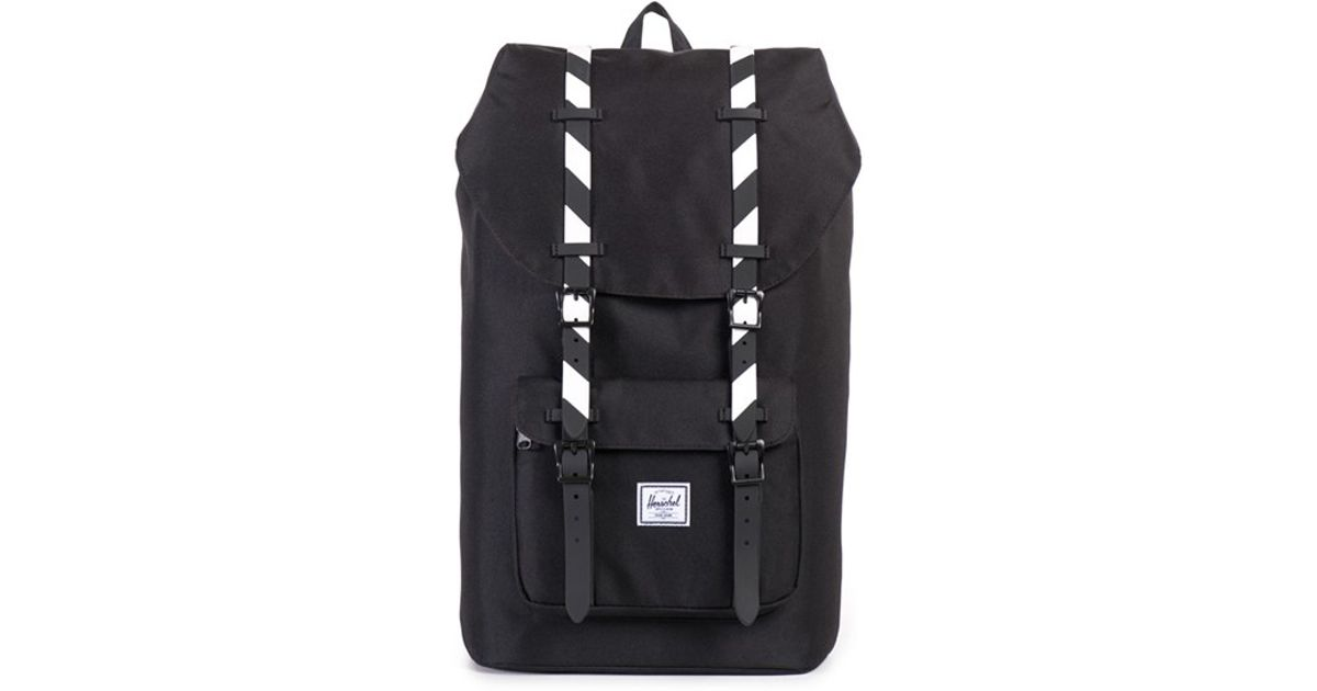cd27e3877e Lyst - Herschel Supply Co.  little America  Backpack in Black for Men