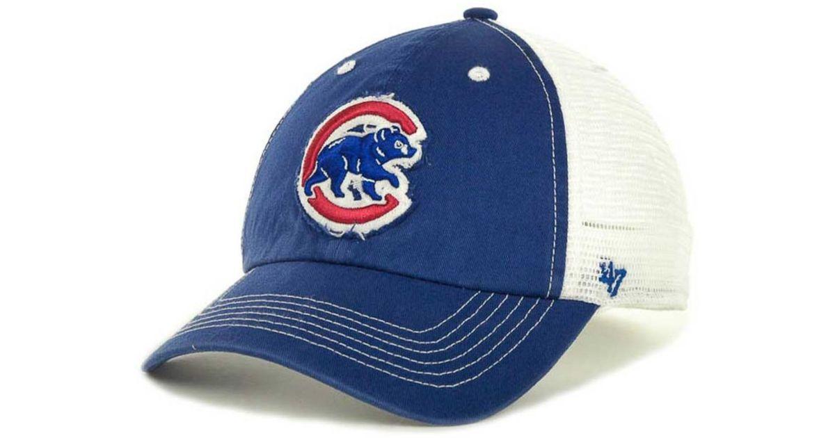 40333d0ac1e715 ... ireland lyst 47 brand chicago cubs blue mountain franchise cap in blue  for men 75121 c4382